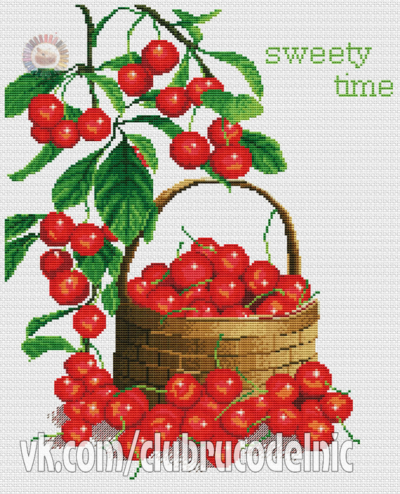 Sweet Time (567x700, 593Kb)