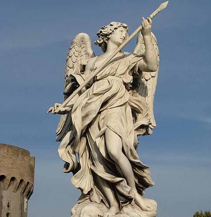 450px-Domenico_Guidi-Angel_bearing_a_lance-Ponte_Sant_Angelo (680x700, 133Kb)