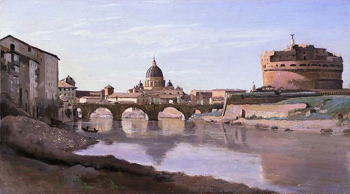 800px-View_of_Rome_-_The_Bridge_and_Castel_Sant'Angelo_with_the_Cuploa_of_St._Peter's (700x387, 56Kb)