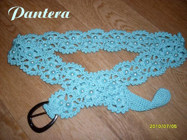 вязание крючком пояс, вяжем крючком берет и схема синее платье крючком.