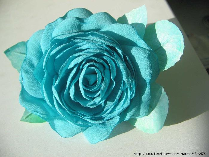 Фея-крестная.  Цветы из ткани.