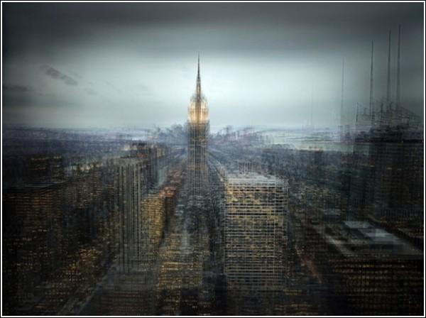 Город сквозь сон. 1 (600x448, 55Kb)