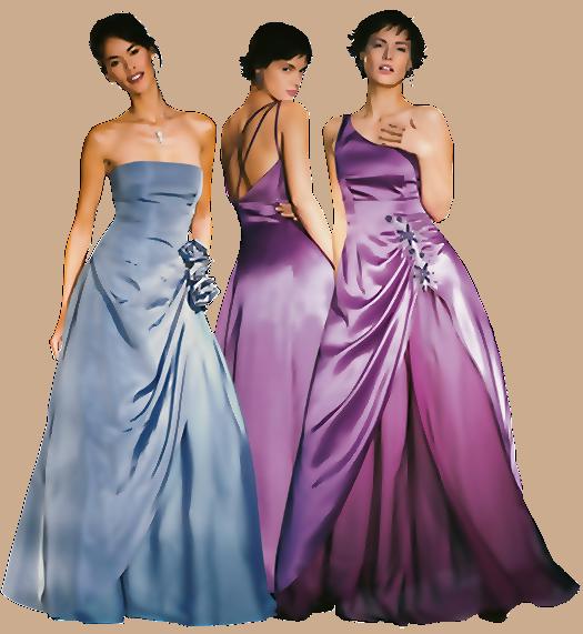 Выкройки красивых вечерних платьев.