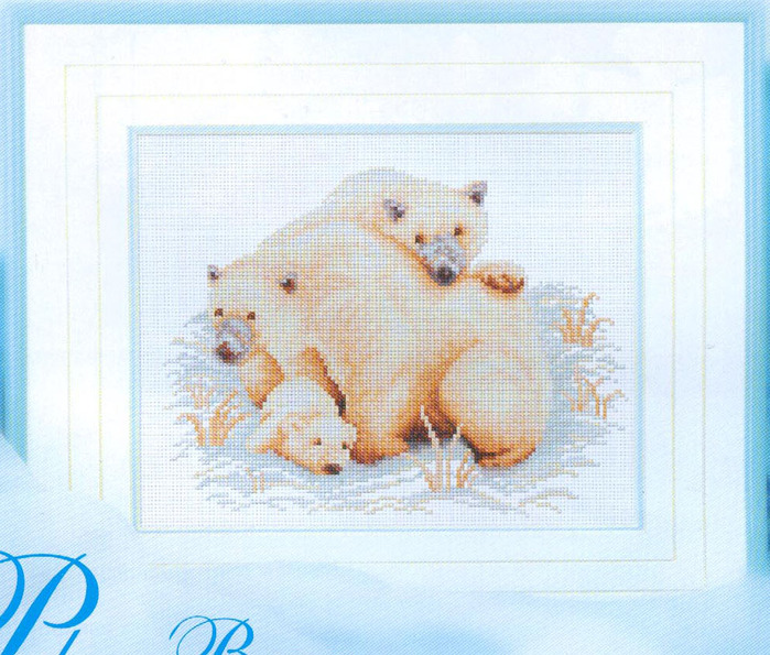24-R Polar Bears (700x595, 163Kb)