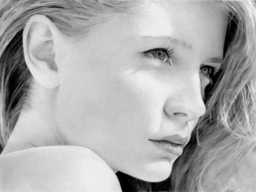 Красивые портреты карандашом (54 фото)