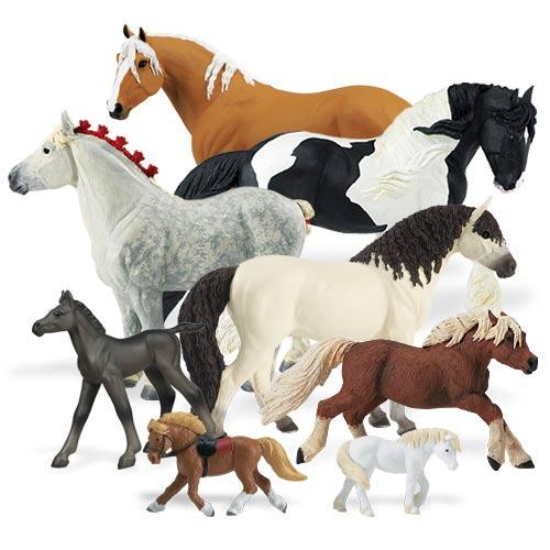 фото игрушек лошадей