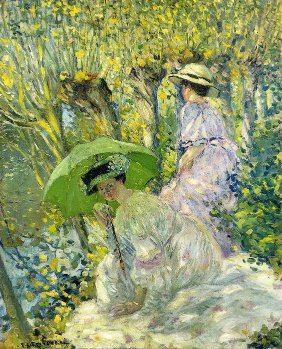 5. Two_Young_Women_in_a_Garden (565x700, 179Kb)