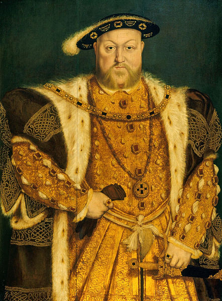 442px-Henry_VIII_(1)_by_Hans_Holbein_the_Younger (442x599, 100Kb)