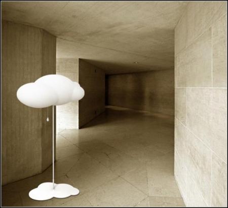 Китайский дизайнер по имени Zhao Liping создал светильник в виде облака.