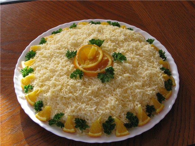 постные блюда рецепты салаты. оформление салатов 2012 с фото.