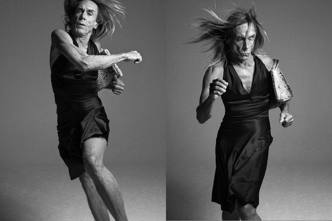 Мода и рокеры: музыканты, ставшие лицом модных домов Игги Поп