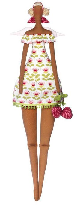Кукла.  Текстильные котики.  Выкройка. сумка+Тильда.