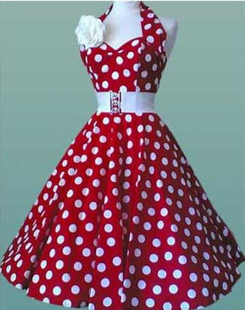 Описание: платье в горошек в пол.