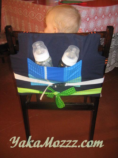 Теперь Вам не нужно возить с собой громоздкий стульчик для кормления малыша.  Не нужно кормить ребенка на коленях...