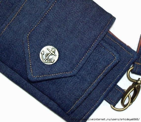 Новое из старых джинс своими руками