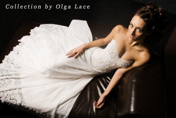 Цитировать.  Вязание крючком/Вязаные свадебные и вечерние платья.