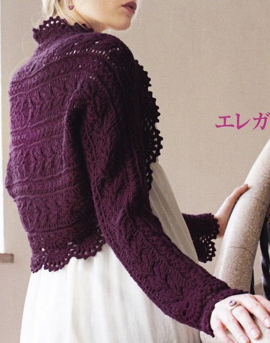 Плед бирюзового цвета для ребенка.  Бесплатная схема вязания спицами. .