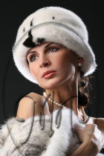 модели и схемы выкроек шапок из норки.