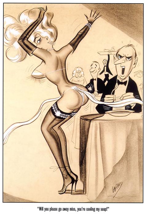 Пикантные дамочки Билла Уорда (Bill Ward). Обсуждение на LiveInternet -  Российский Сервис Онлайн-Дневников