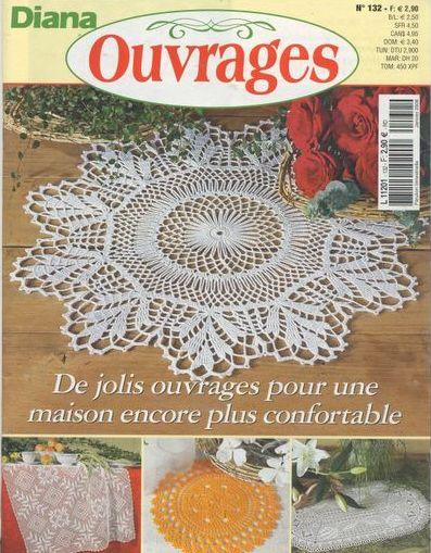 Описание: Вязание.  Креативный журнал из Франции по вязанию крючком.
