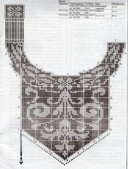 Схемы плетения бисером на станке.