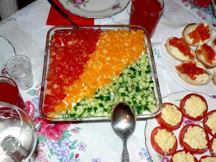 салаты оригинальные рецепты с фото