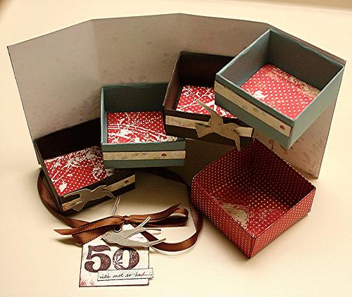 Коробочка с секретом (подарок своими руками)