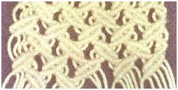 Макраме схема плетения кресла.  Поделка, изделие Макраме: Макраме.