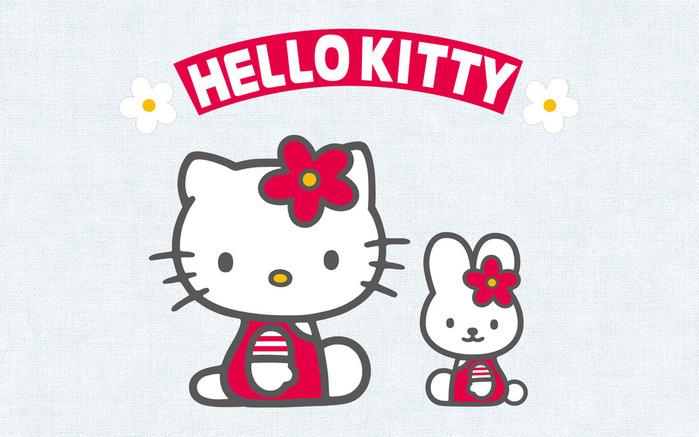 скачать обои HD Hello Kitty.