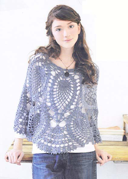 Crochet Poncho Patterns For Girls – Crochet Club