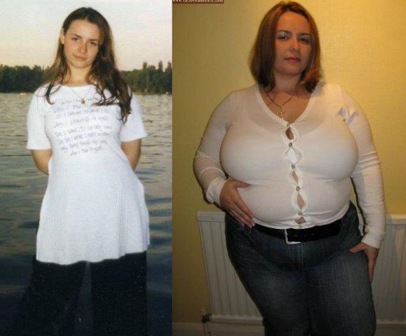 фотографии людей которые специально толстеют