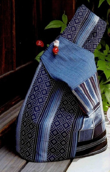 Как сшить простую сумку из джинса