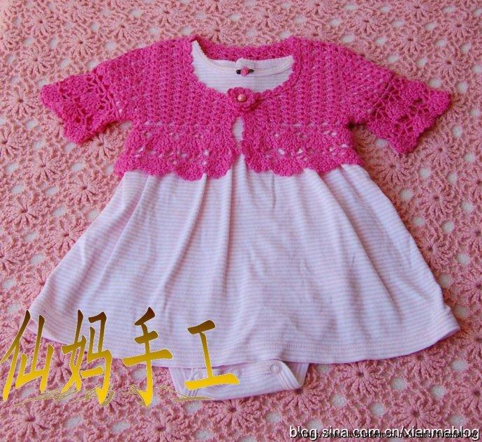 Болеро для малышки Вязание спицами, крючком, уроки вязания пишет: 3 Июнь...