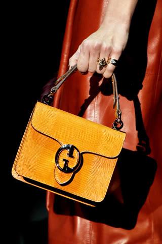 Коллекция сумок Gucci для предстоящих осени и зимы отличается.