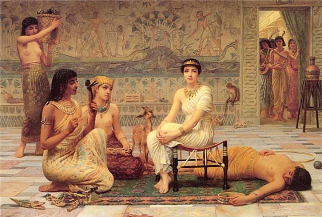 Сексуальные обычаи в древности где
