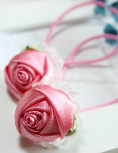 2. 1. розы из атласных лент.  Прочитать целикомВ.