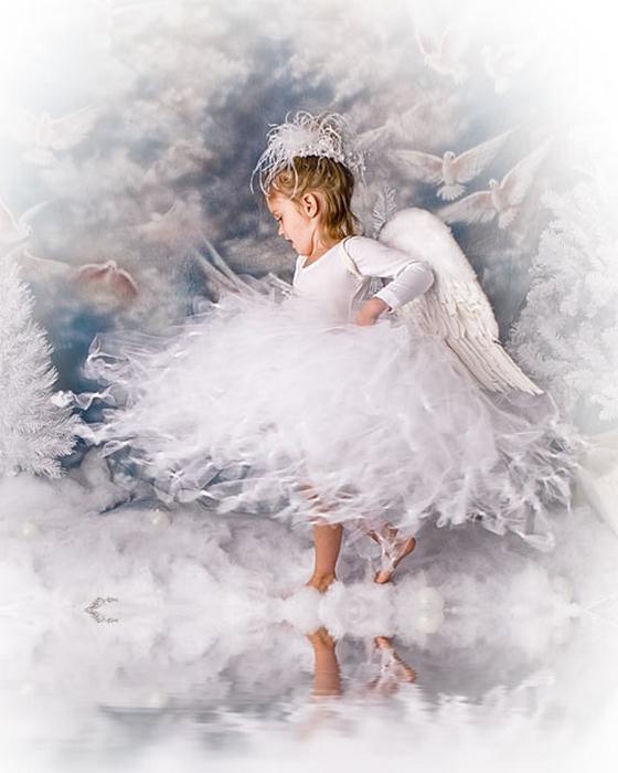 день снежных ангелов картинки котел