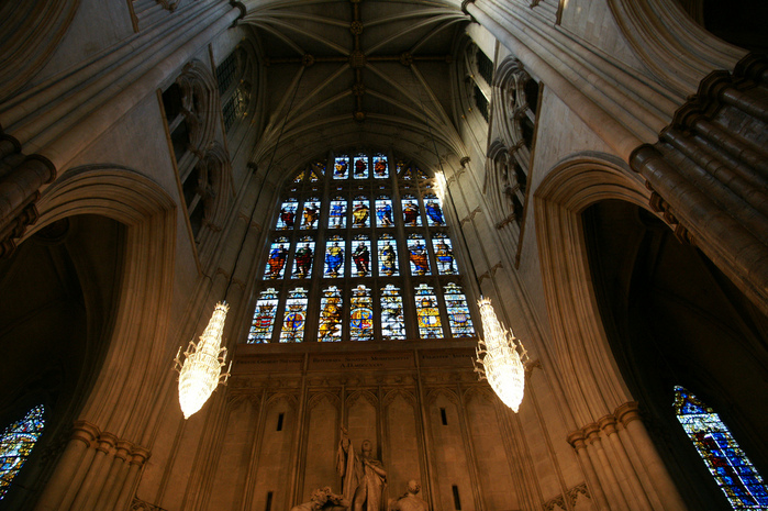 The West window above the Great West Doors at Westminster Abb (700x465, 222Kb)
