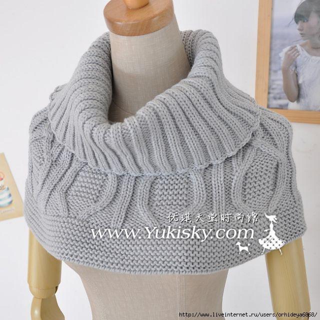 как носить шарфы. схема ажурного шарфа спицами. вязание крючком...