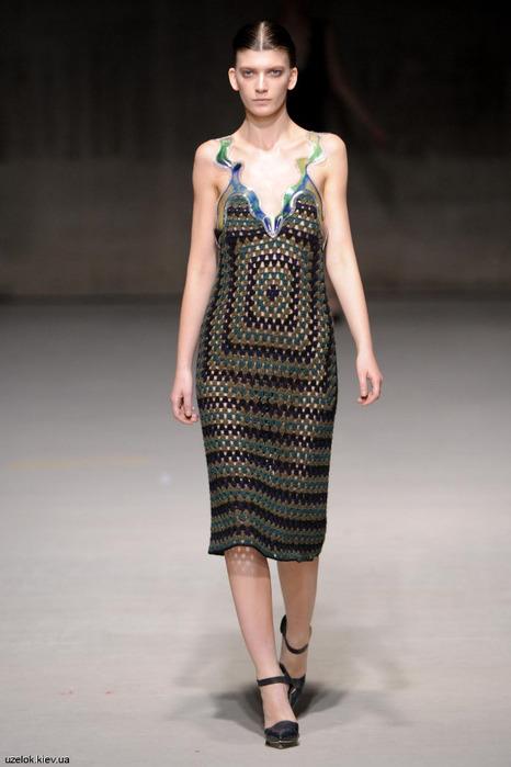 модные сарафаны осень-зима с декором.