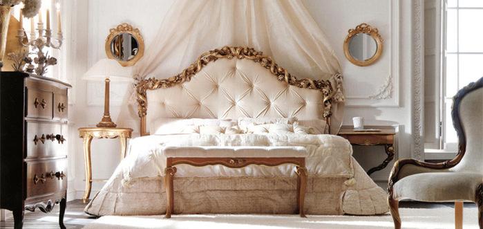 Кровать. в Мой блокнот.  151 см. Спальни.  Италия.