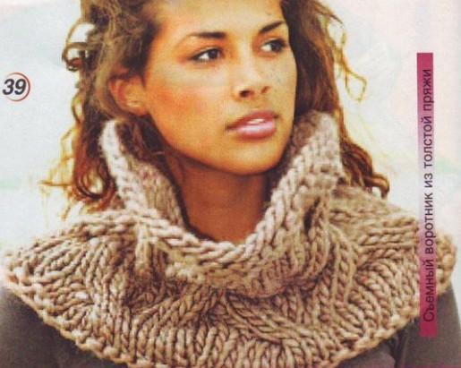 Воротники хомуты - модный аксессуар и альтернатива обычным шарфам.