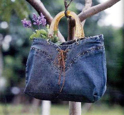 свой цитатник или сообщество!  Более 40 сумок из старых джинсов.идеи.
