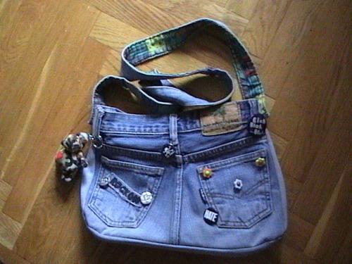 сшить джинсовые шорты для девочки.  Сшить сумку из старых джинсов выкройка.