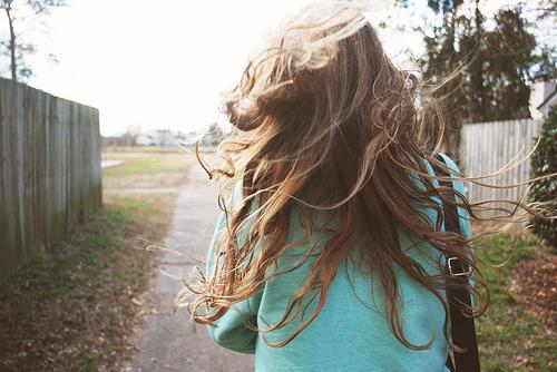 Фотографии красивых девушек русых со спины