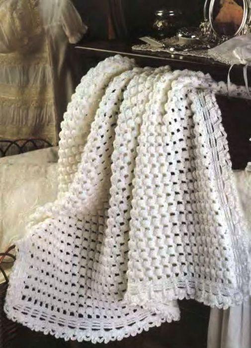 Вязание для дома крючком и спицами/Пледы, покрывала. детские вязанные.