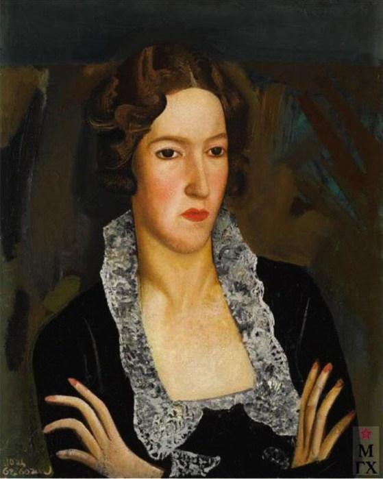 Женский портрет (559x700, 75Kb)