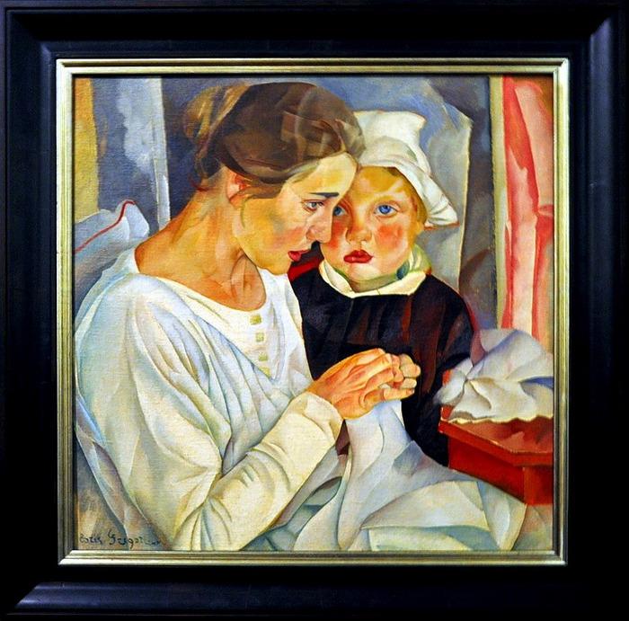 Мать и дитя. 1918 (700x691, 163Kb)