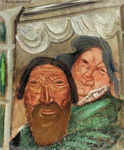 «Два лица в окне» (499x600, 119Kb)