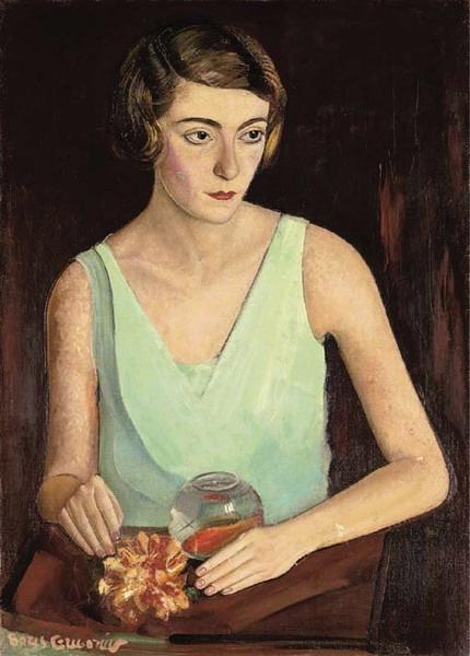 «Женщина в зелёном платье» 1922 (430x600, 69Kb)